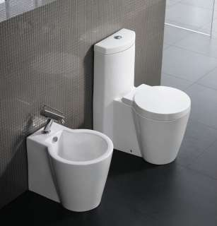 Modern Toilet One Piece Dual Flush Eco Friendly 27.2