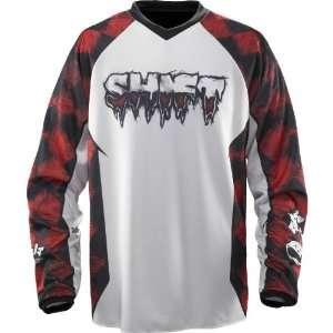 SHIFT RACING RECON JERSEY 2X BLACK/RED