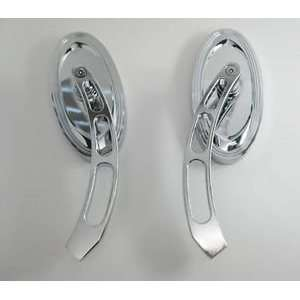 : Chrome Harley Davidson electra glide classic mirrors HD: Automotive