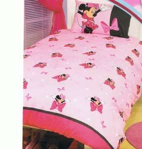 Disney Minnie Mouse Bow tique Single / Twin Bed Quilt / Doona / Duvet