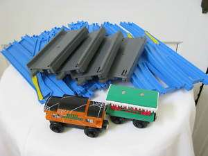 Thomas Ultimate Train Set Blue Tracks Lot Tomy Trains