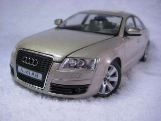 Audi A6 champagne bubble color Cararama Diecast Car Model 1:24 1/24