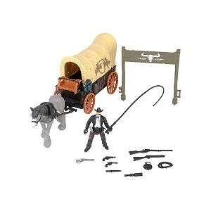 True Heroes Wild West Wagon Playset Toys & Games
