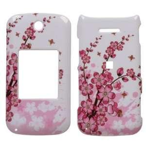 Spring Flower Design Snap On Hard Case for LG Wine II