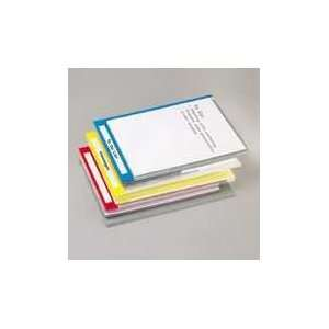 ESS51058   PileSmart Quickview Clear File Jackets w