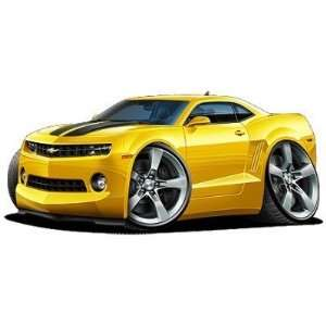 2010 Chevy Camaro SS car HUGE 48 Wall Graphic Decal Color Mural Vinyl