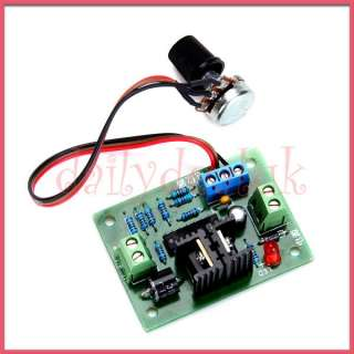 DC 12V 24V 3.2 A Motor Speed Control PWM Controller New