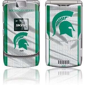 Michigan State University Spartans skin for Motorola RAZR