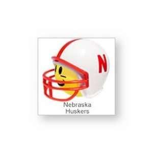 NCAA Football Helmet Antenna Topper,Nebraska Huskers