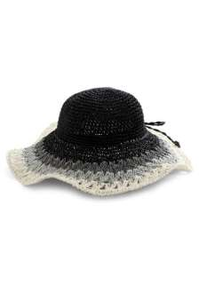 That Hat   Black, Grey, Color Block, Bows, Woven, White, Boho, Travel