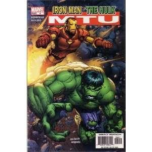 UP, #4 (COMIC BOOK), FEATURING IRON MAN & THE HULK KIRKMAN Books
