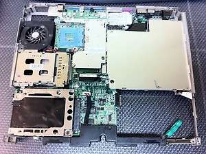 Dell Latitude D600 Laptop Mainboard & Frame X2035 8R654