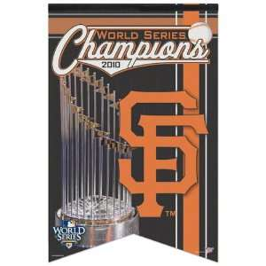 San Francisco Giants 2010 World Series Champions 17x26 Premium Quality