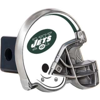 American New York Jets Metal Helmet Trailer Hitch Cover   NFLShop