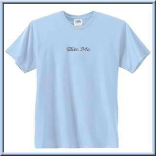 Bite Me Rhinestones With Heart T Shirts S 2X,3X,4X,5X