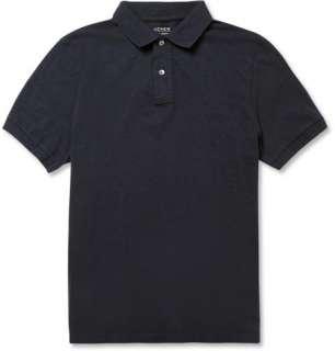 Polos  Short sleeve polos  Slub Cotton Jersey Polo Shirt