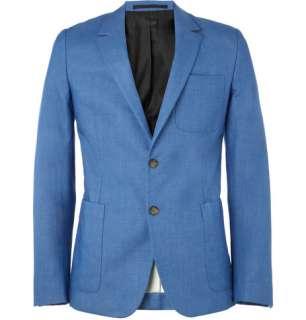 Clothing  Blazers  Single breasted  Slim Fit Cotton Blazer