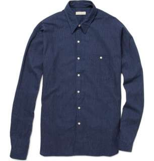 Clothing  Casual shirts  Casual shirts  Dotted Cotton Shirt