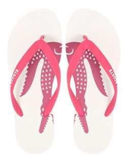 Lacoste  Lacoste La Cruz CP Logo Flip Flops at ASOS
