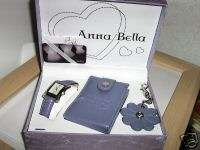 anna bella , watch set , key ring , man a care set