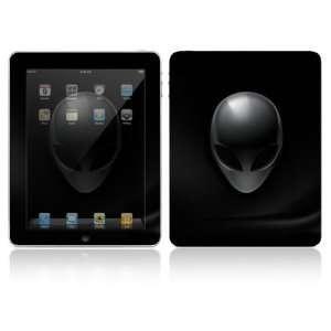 Apple iPad Decal Vinyl Sticker Skin   Carbon Fiber Alien