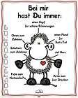 Poster sheepworld wild love Schaf Schäfchen Liebe Karte Artikel im
