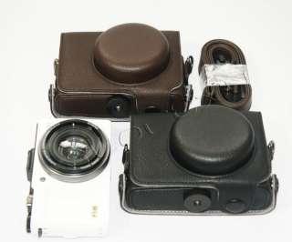Leder Tasche Kameratasche Etui Camara Bolsa für Olympus XZ 1 XZ1 Neu