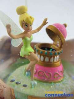Tinker Bell Peter Pan You Can Fly Musical Snow Globe Figure