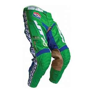 JT Racing USA Classic Mens Vented Off Road Motorcycle Pants   Green