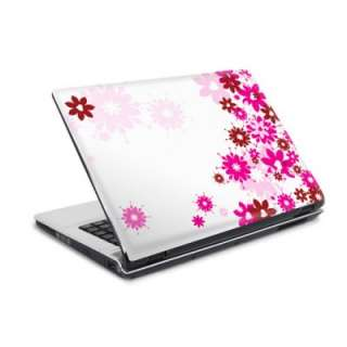 Laptop Sticker 10 Skin Folie Netbook Pink Lila Blumen