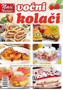 Vocni kolaci Fruit cakes cake Serbian CookBook Serbia Nasi Najlepsi