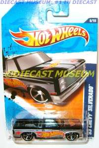 1983 83 CHEVY SILVERADO TRUCK PICKUP HOT WHEELS HW DIECAST