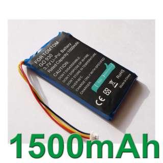 Akku Li Polymer für TomTom Go 930 GO930 Traffic accu Batterie