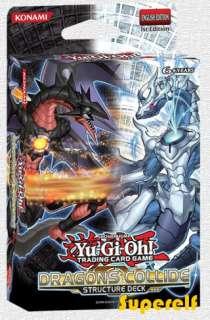 Yu Gi Oh!   ZEXAL   Structure Deck   Dragons Collide   deutsch   NEU