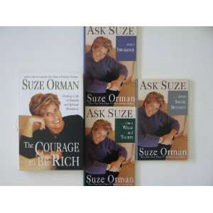 Suze Orman 4 Book Set   The Courage to be Rich, Ask Suze
