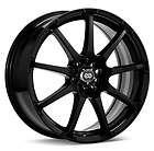 18x7.5 Enkei EDR9 Black Wheel/Rim(s) 5x114.3 5 114.3 5x4.5 18 7.5