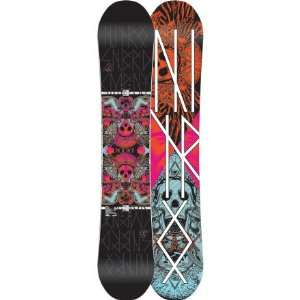 Nitro Rook Snowboard   Light Blue/ Red 156 cm Sports