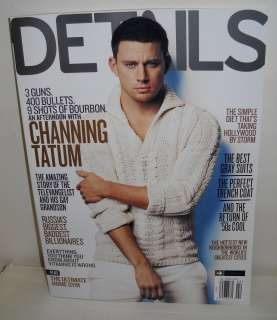 Details Magazine February 2012 Channing Tatum, GLEEs Darren Criss