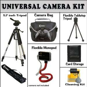 com Clearmax Universal Accessory Kit for The Panasonic Lumix DMC FH20