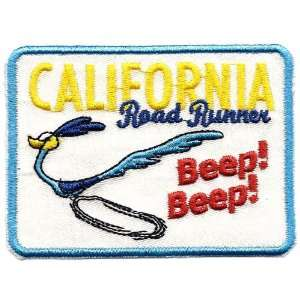 Road Runner ~ California ~ Beep Beep ~ Looney Tunes Embroidered Iron
