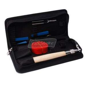 Professional 6 Piano Tuning Kit Tools with Case High Quality