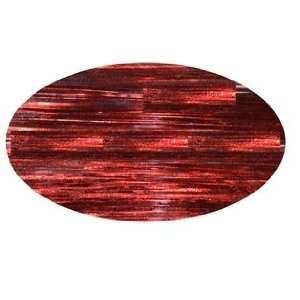 Piz Zaz Hair Glimmer Tinsel Rio Red Extensions + Hair Art Pin Tail