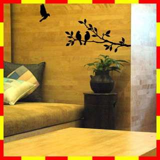 GP 54 TREE & BIRD Graphic Art Wall Deco Decor Sticker
