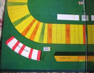 Vintage Raceway Horse Harness Racing Game 1954 RARE HTF Wall Decor