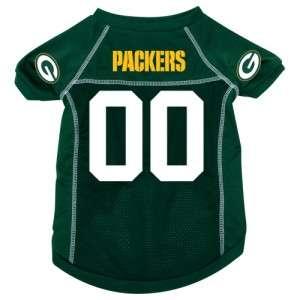 Green Bay Packers NFL Pet Dog Green Jersey Shirt XL