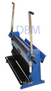 Shear Press Brake Slip Roll Roller 20 Gauge Sheet Metal Finger Pan Box
