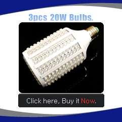 Corn Type E26 330LED 110V 20W Energy Saving Cool White Light Bulb