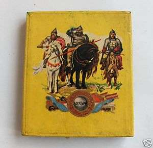 1948 OLD RUSSIAN CCCP CIGARETTE CARDBOARD BOX CASE rare