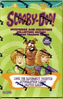 Scooby Doo Mysteries & Monsters Hobby Box (Inkworks)