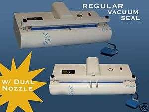 20 Nozzle Vacuum Sealer with Gas Purge Seal Vacuum Bag